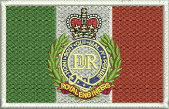 Irish RE Badge